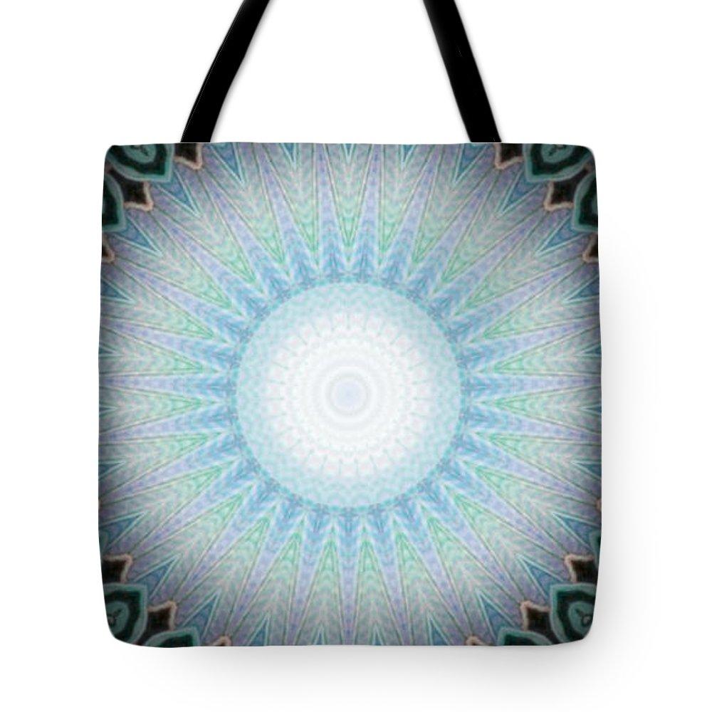 Digital Tote Bag featuring the digital art Peacock by Vicki Lynn Sodora