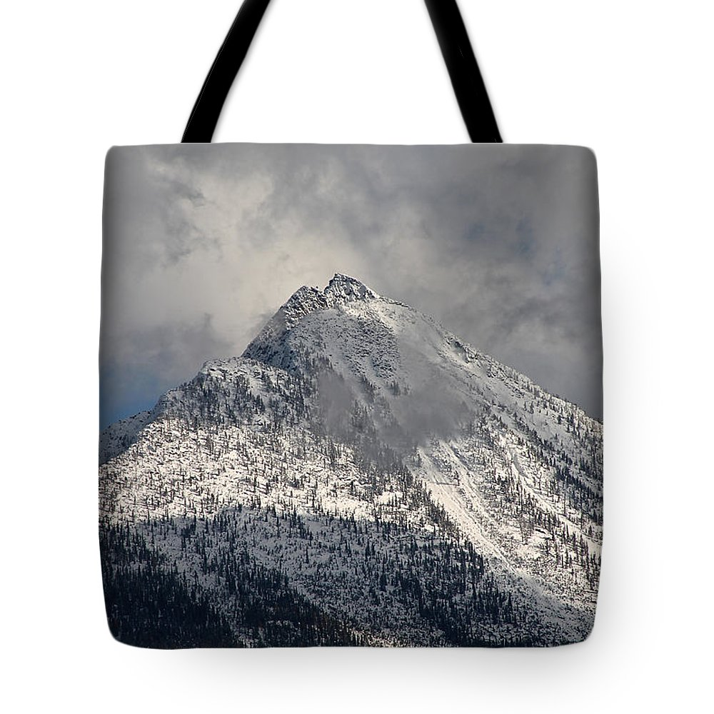 Peak Tote Bag featuring the photograph Peak by Cathie Douglas