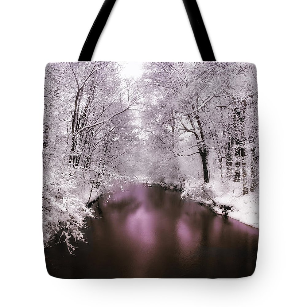 Landscape Tote Bag featuring the photograph Pearlescent by Jessica Jenney