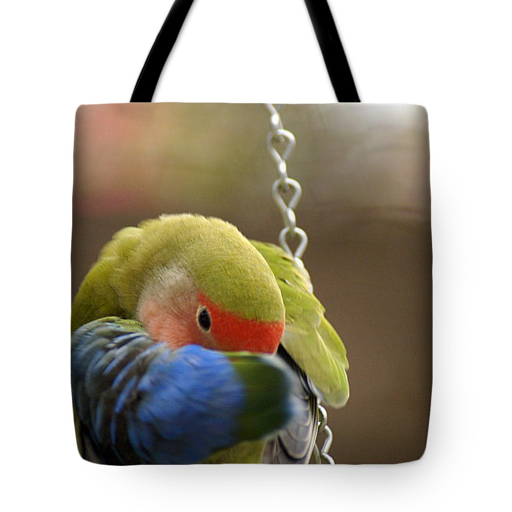 Clay Tote Bag featuring the photograph Peek A Boo by Clayton Bruster