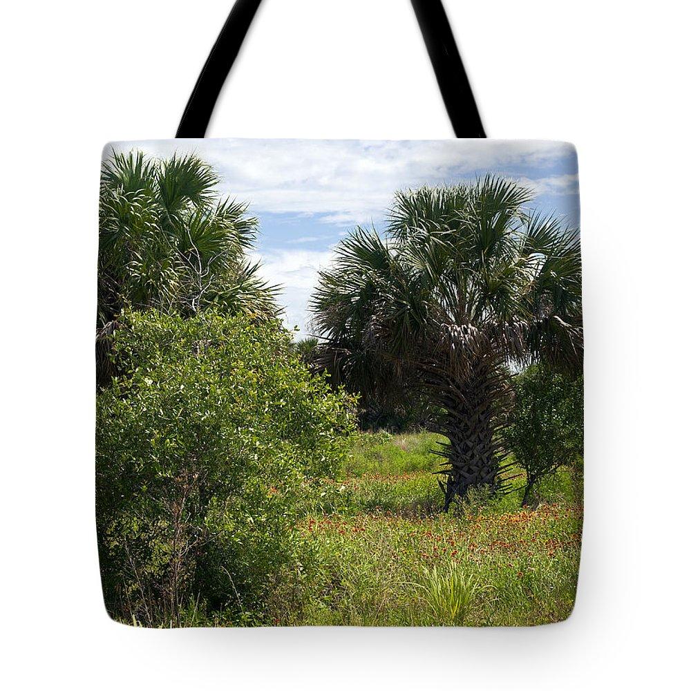 Florida Tote Bag featuring the photograph Pelican Island Nwr In Florida by Allan Hughes