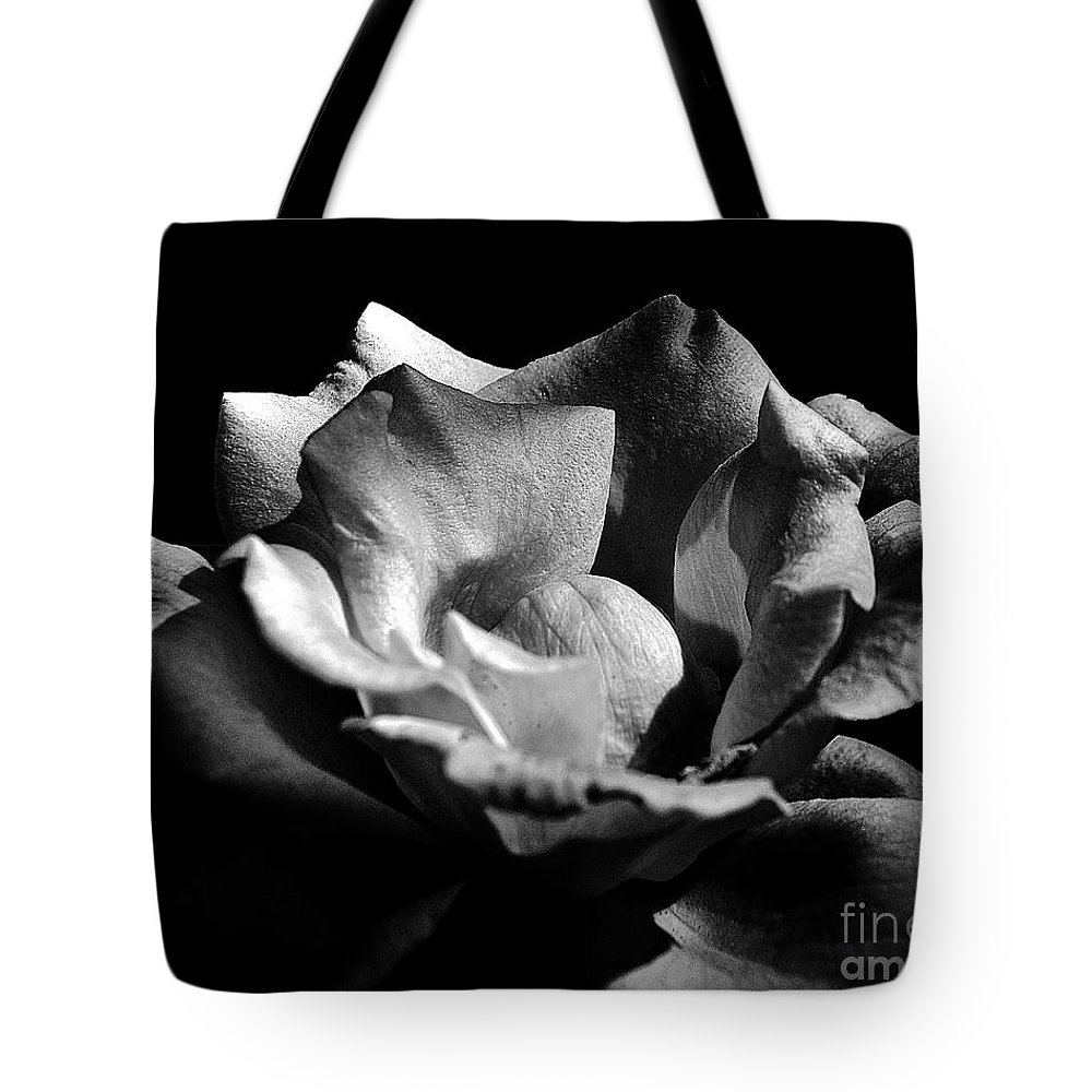 Clay Tote Bag featuring the photograph Penetrating The Rose by Clayton Bruster
