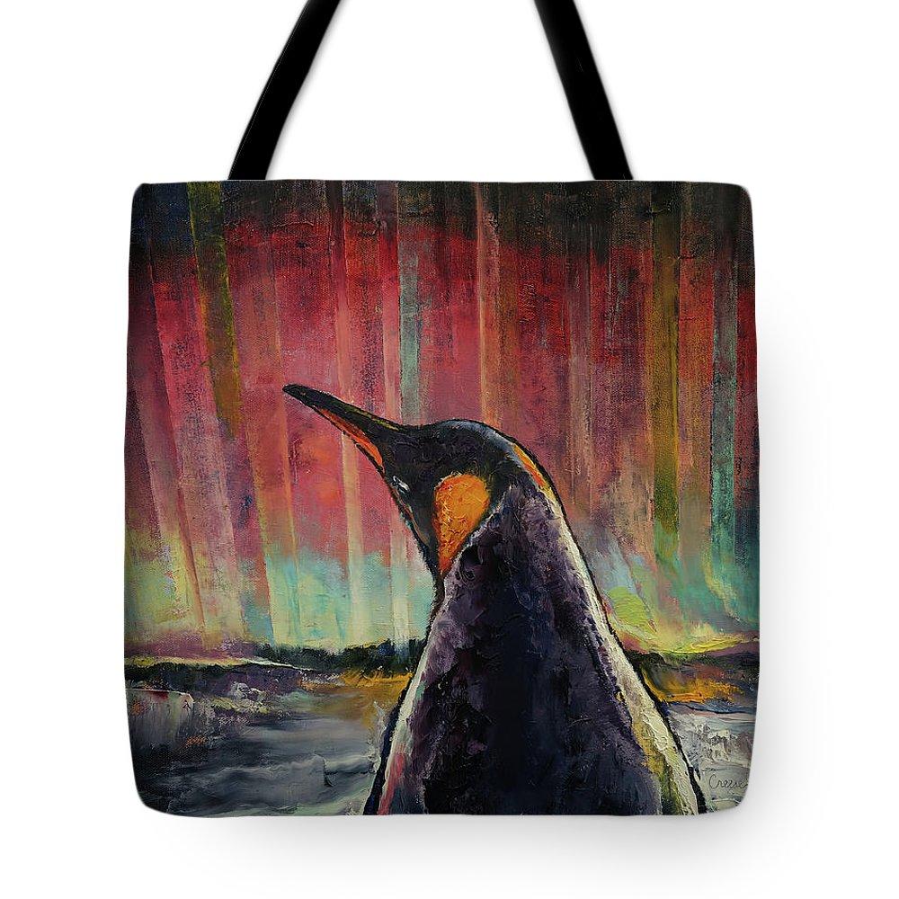 Aurora Australis Tote Bags