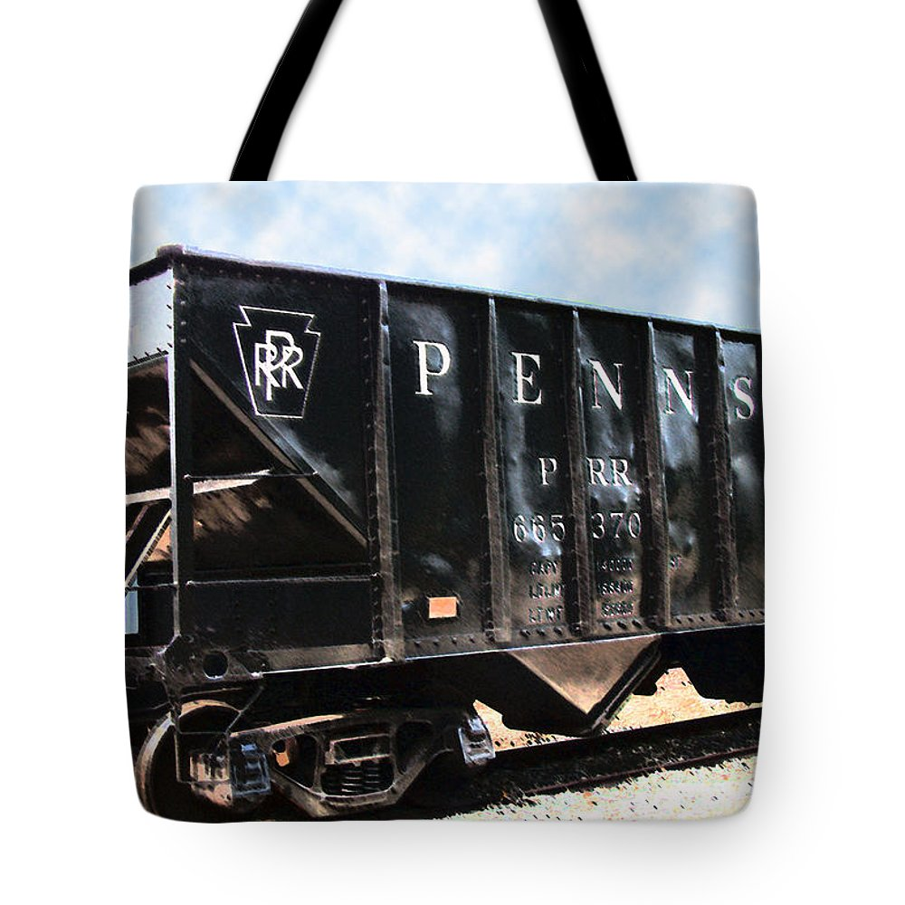Trains Tote Bag featuring the photograph Pennsylvania Hopper by RC DeWinter