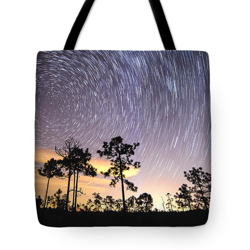 St James Tote Bag featuring the photograph Pepperbush Stars by Nick Noble