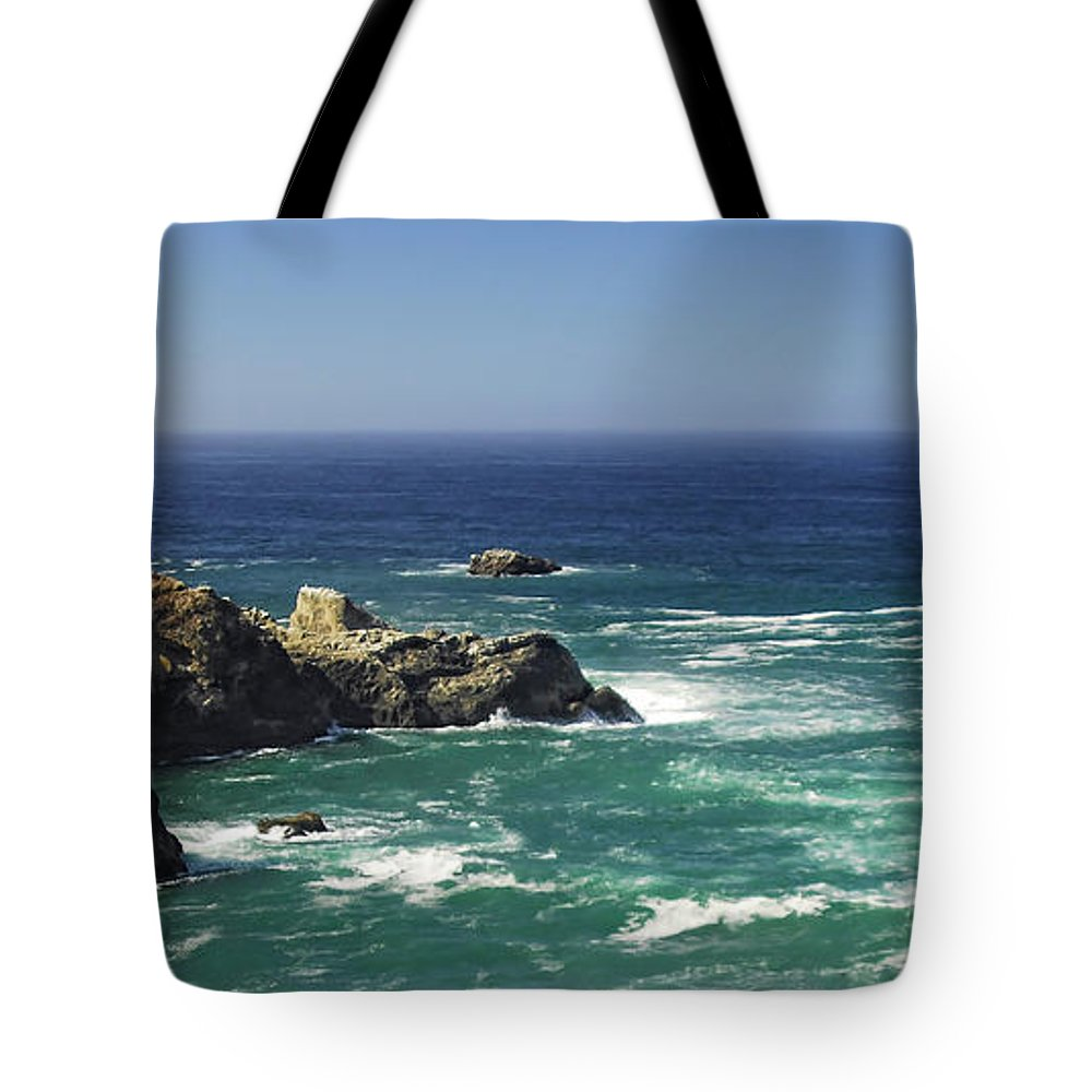 Ocean Tote Bag featuring the photograph Perfect Mix Of Blue And Green by Donna Blackhall