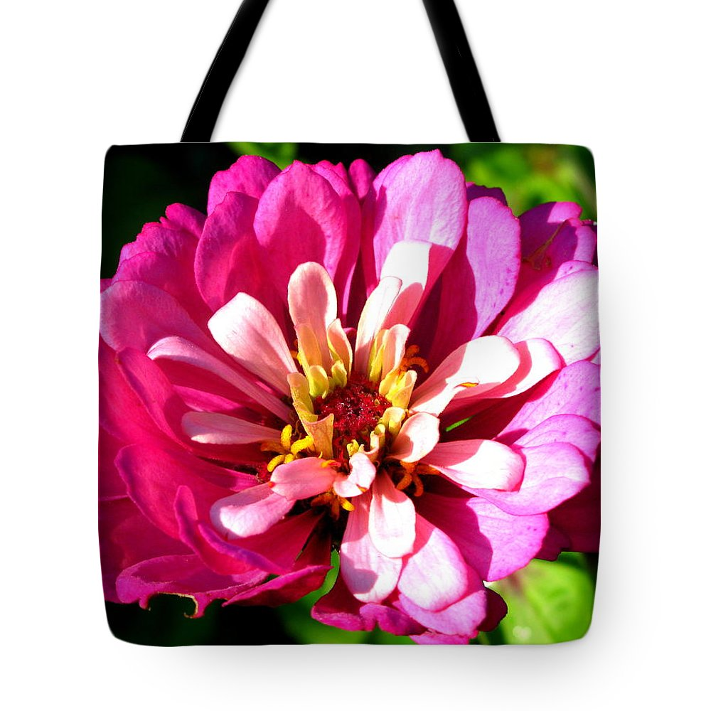 Pink Flower Tote Bag featuring the photograph Perfect Pink by Brittany Horton