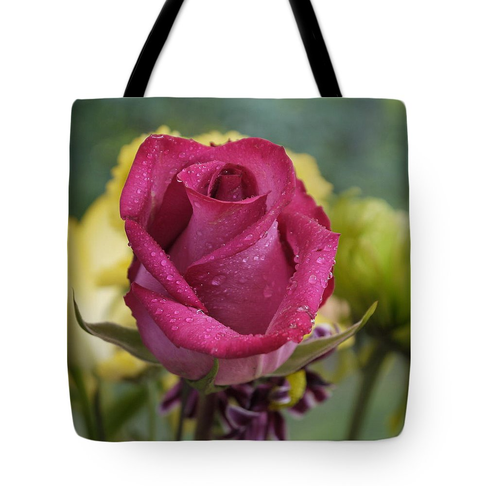 Rose Tote Bag featuring the photograph Perfectly Pink by Nancie DeMellia