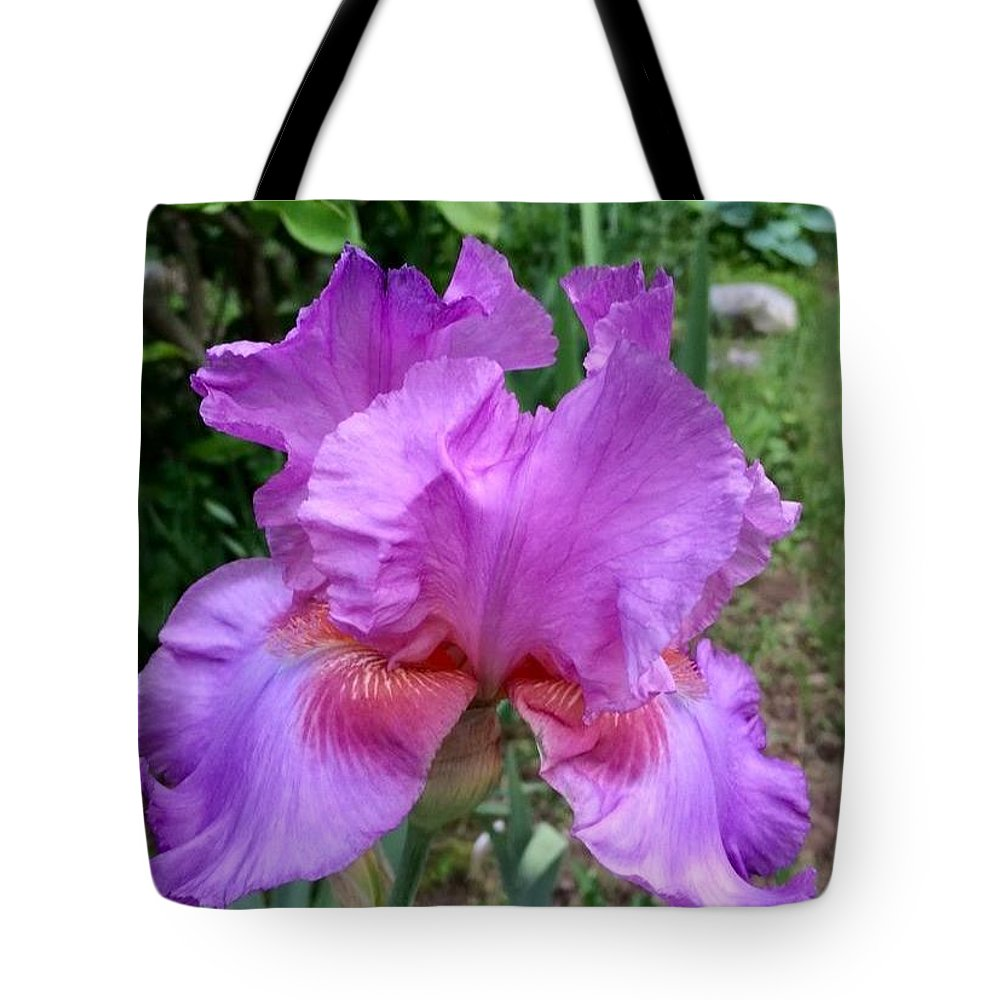 Iris Tote Bag featuring the photograph Persian Berry by Lindsay Smith