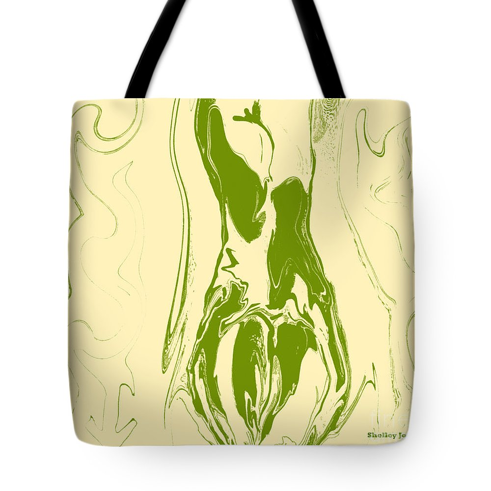 Perspective Tote Bag featuring the digital art Perspective by Shelley Jones