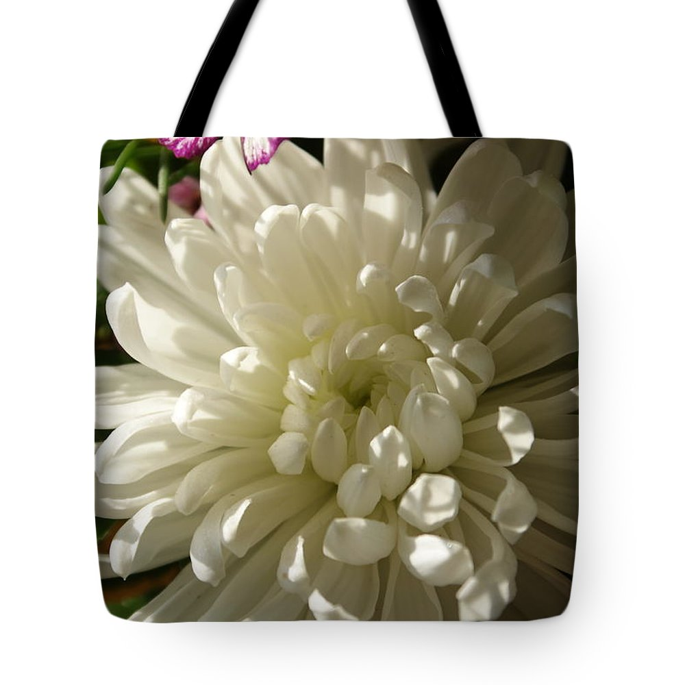Flower Tote Bag featuring the photograph Petals Profusion by Cricket Hackmann