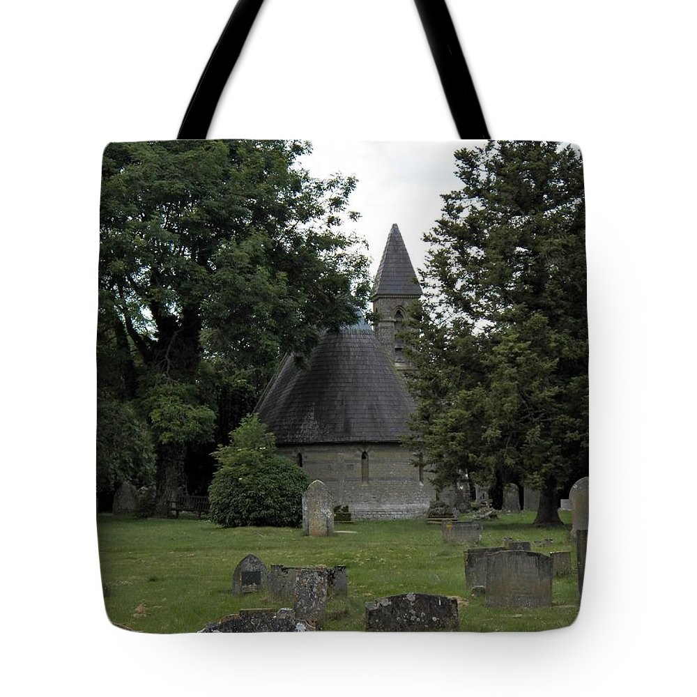 Pewsey Village And Civil Parish Tote Bag featuring the photograph Pewsey Parish Council Cemetary by David A James