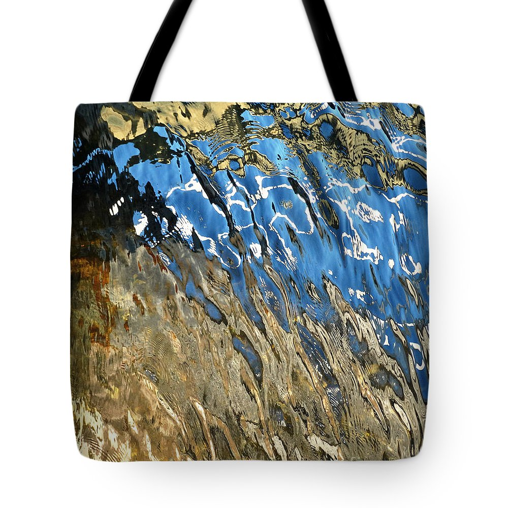 Abstract Tote Bag featuring the photograph Phantom Horse by Pat Miller