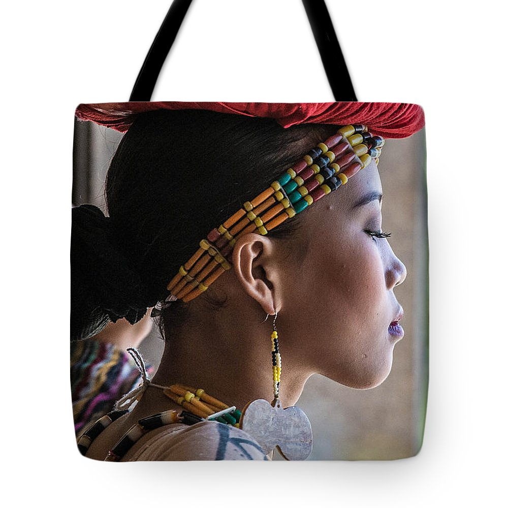 Philippine Dancer Tote Bag featuring the photograph Philippine Dancer by Judith Barath
