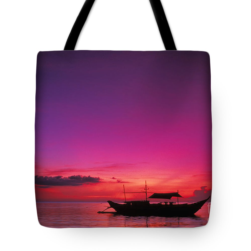 Beautiful Tote Bag featuring the photograph Philippines, Boracay Island by Gloria & Richard Maschmeyer - Printscapes