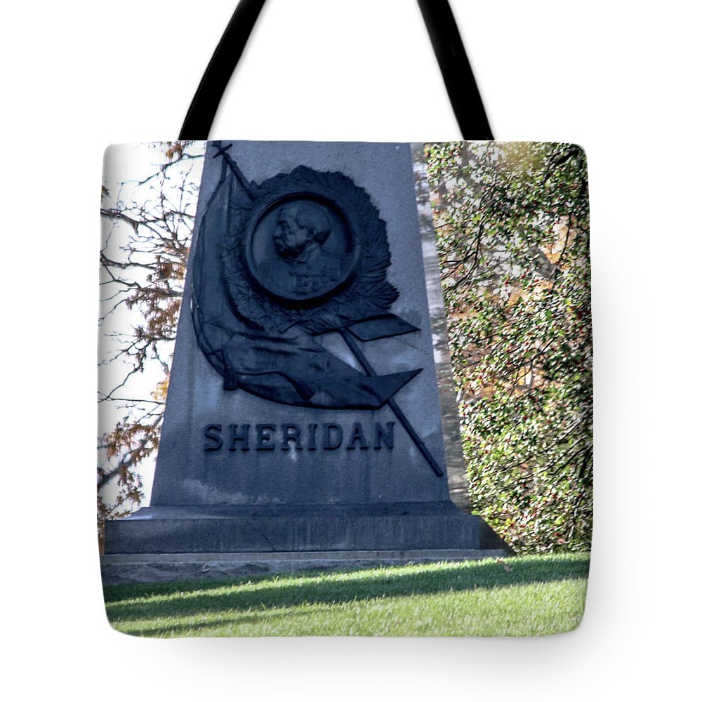 Philip Henry Sheridan (march 6 Tote Bag featuring the photograph Phillip Henry Sheridan by William Rogers