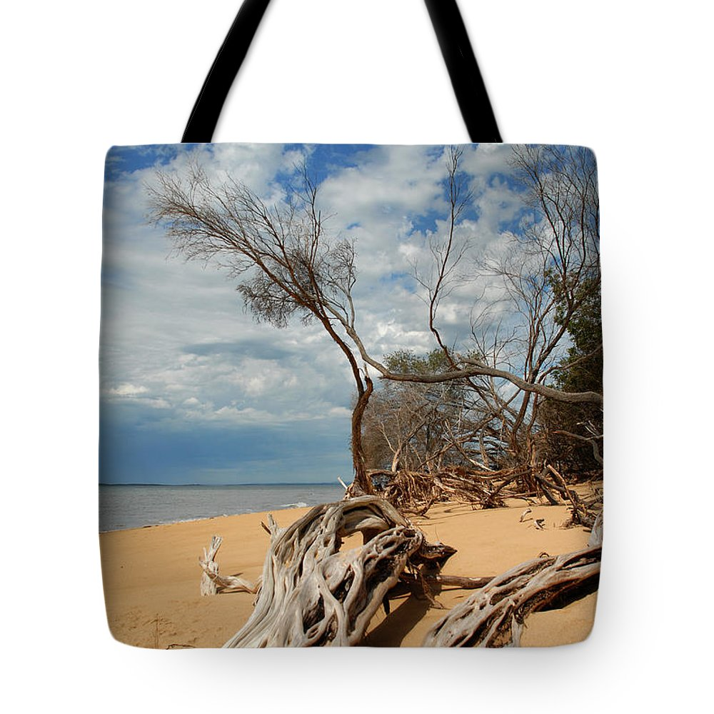Phillip Island Tote Bag featuring the photograph Phillip Island Beach by Robert Lacy