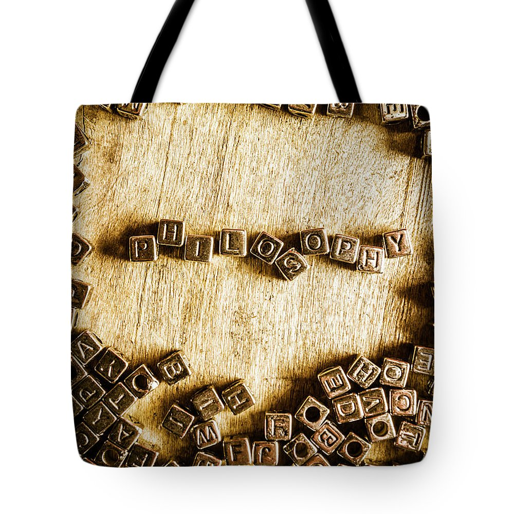 Philosophy In Metal Cubes Tote Bag for Sale by Jorgo Photography ...
