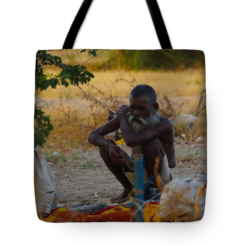 Photograph Of Indian People Tote Bag featuring the photograph Photograph by Amar Zala