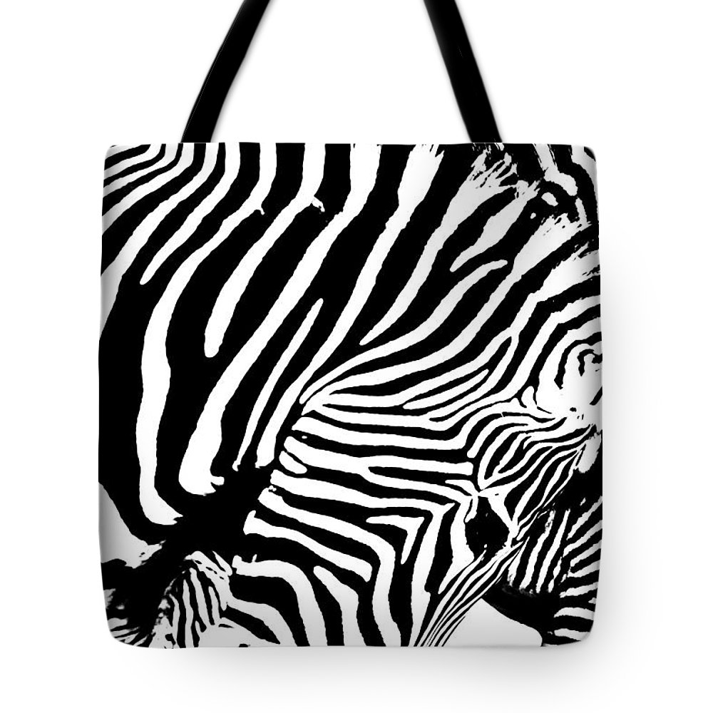 Zebra Tote Bag featuring the photograph Piano by Edgar Laureano