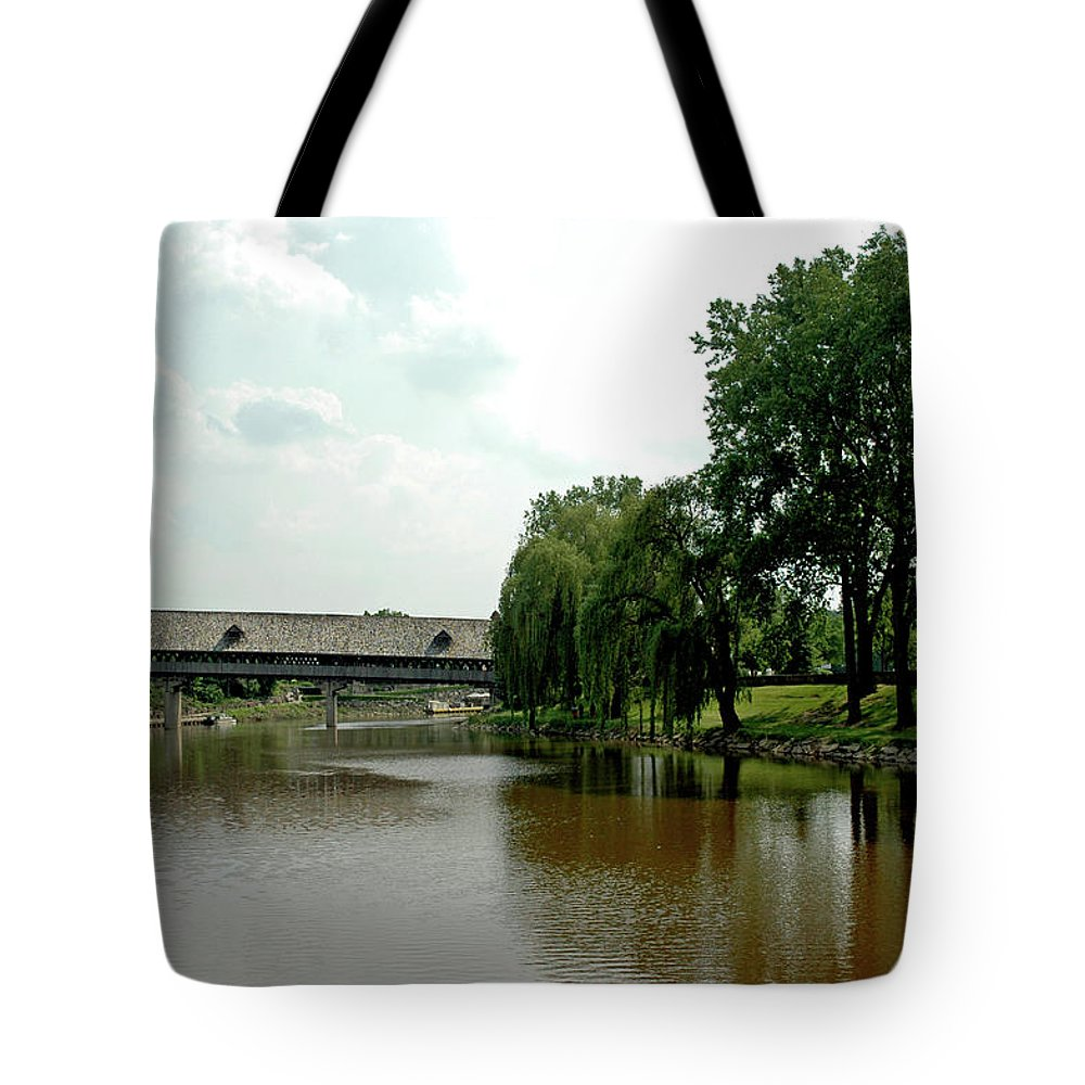 Usa Tote Bag featuring the photograph Picnic On The Bavarian Lawn by LeeAnn McLaneGoetz McLaneGoetzStudioLLCcom