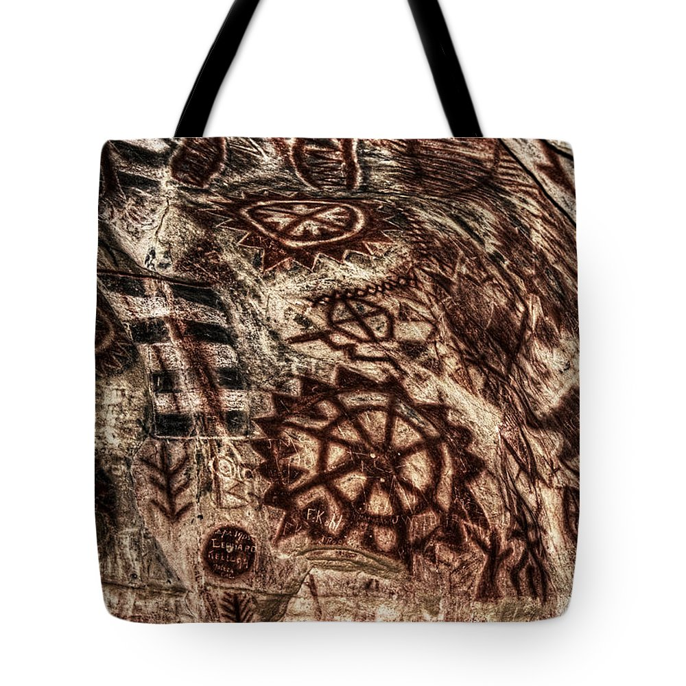 Cave Tote Bag featuring the photograph Picture Worth 1000 Words by David Matthews
