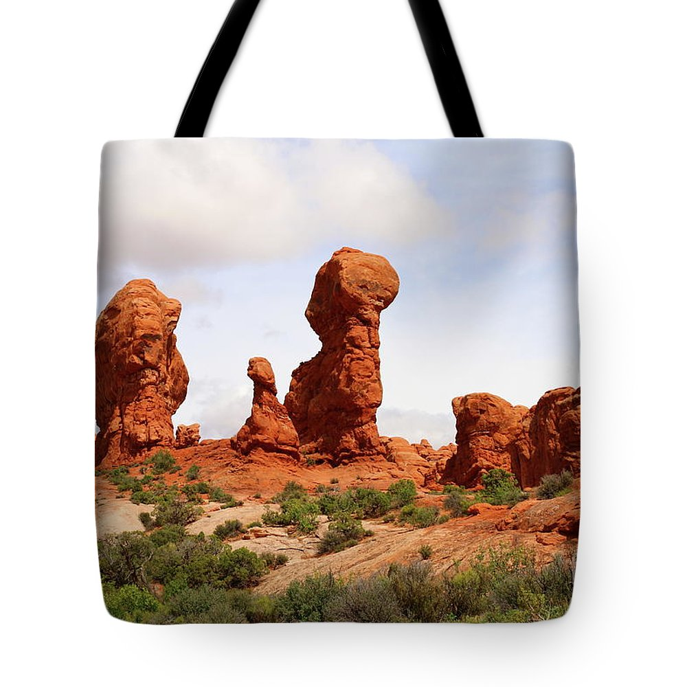 Window Tote Bag featuring the photograph Picturesque Landscape Scene by Christiane Schulze Art And Photography