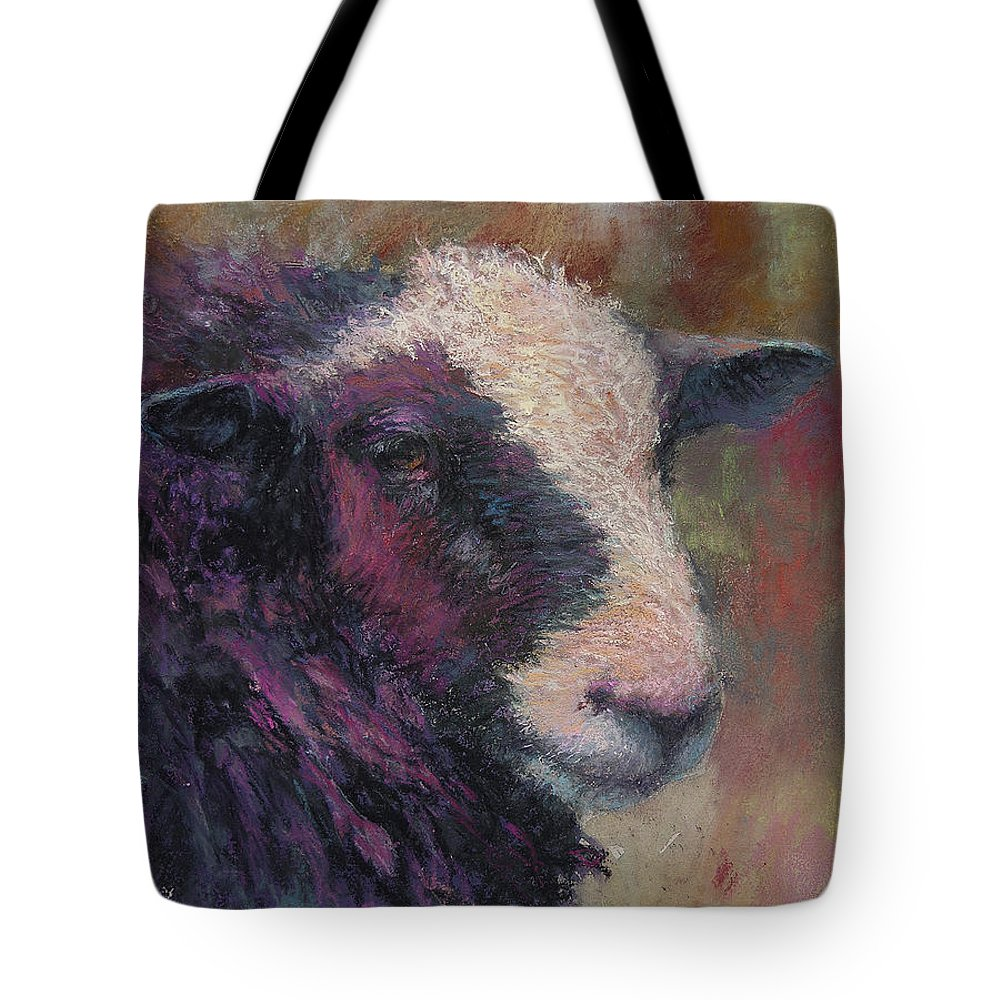 Animals Tote Bag featuring the painting Pierre by Susan Williamson