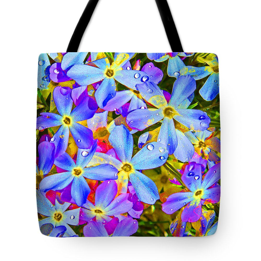 Wildflower Tote Bag featuring the photograph Pincushion Flower by Heather Coen