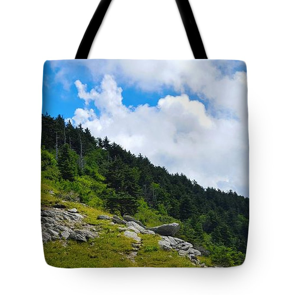Sky Tote Bag featuring the photograph Pine Ridge by Ric Schafer