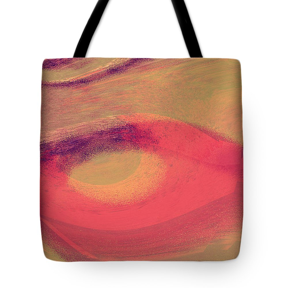 Fantasy Tote Bag featuring the digital art Pink Ambrelia by Max Steinwald