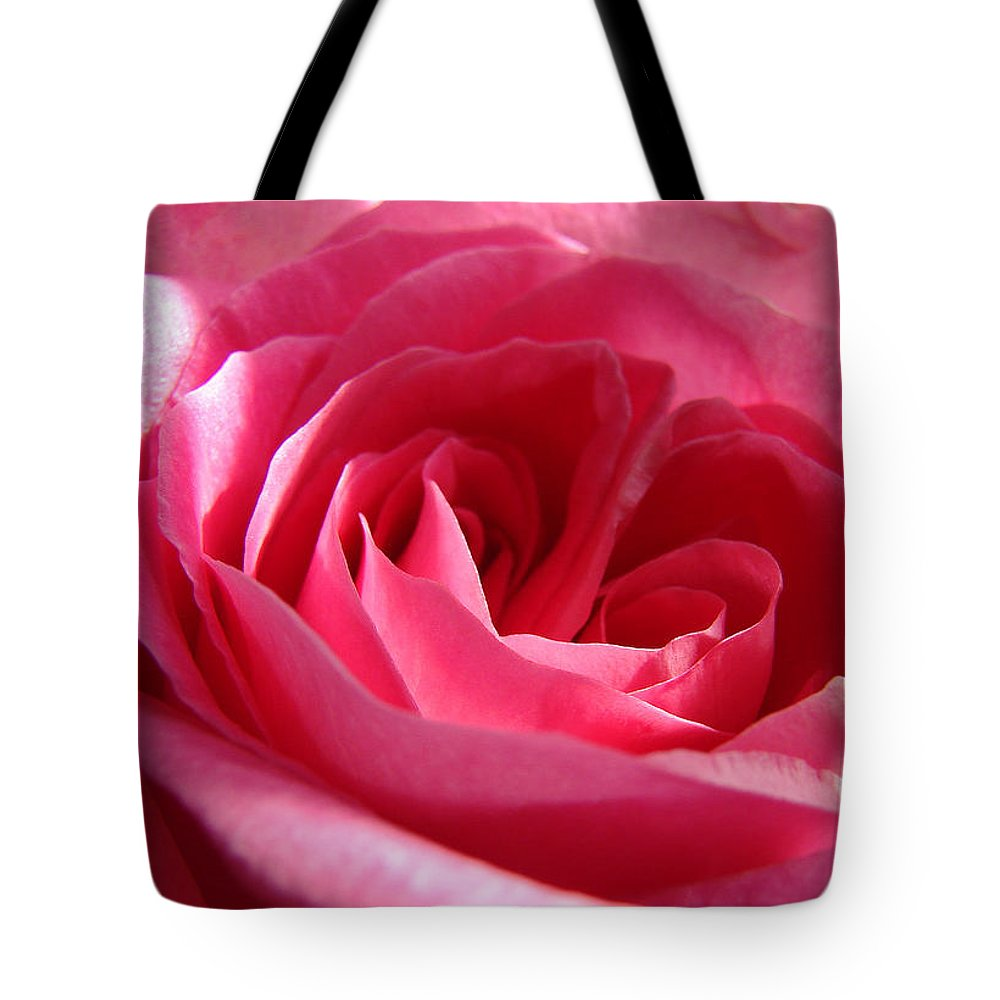 Tote Bag featuring the photograph Pink by Luciana Seymour