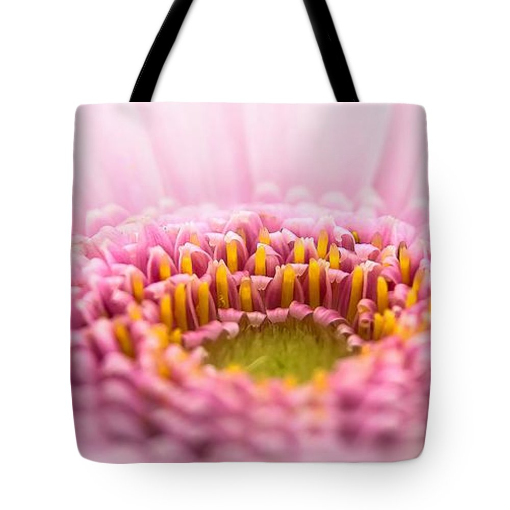Pink macro fplower tote bag for sale by foto rabe pink flower tote bag featuring the photograph pink macro fplower by foto rabe mightylinksfo