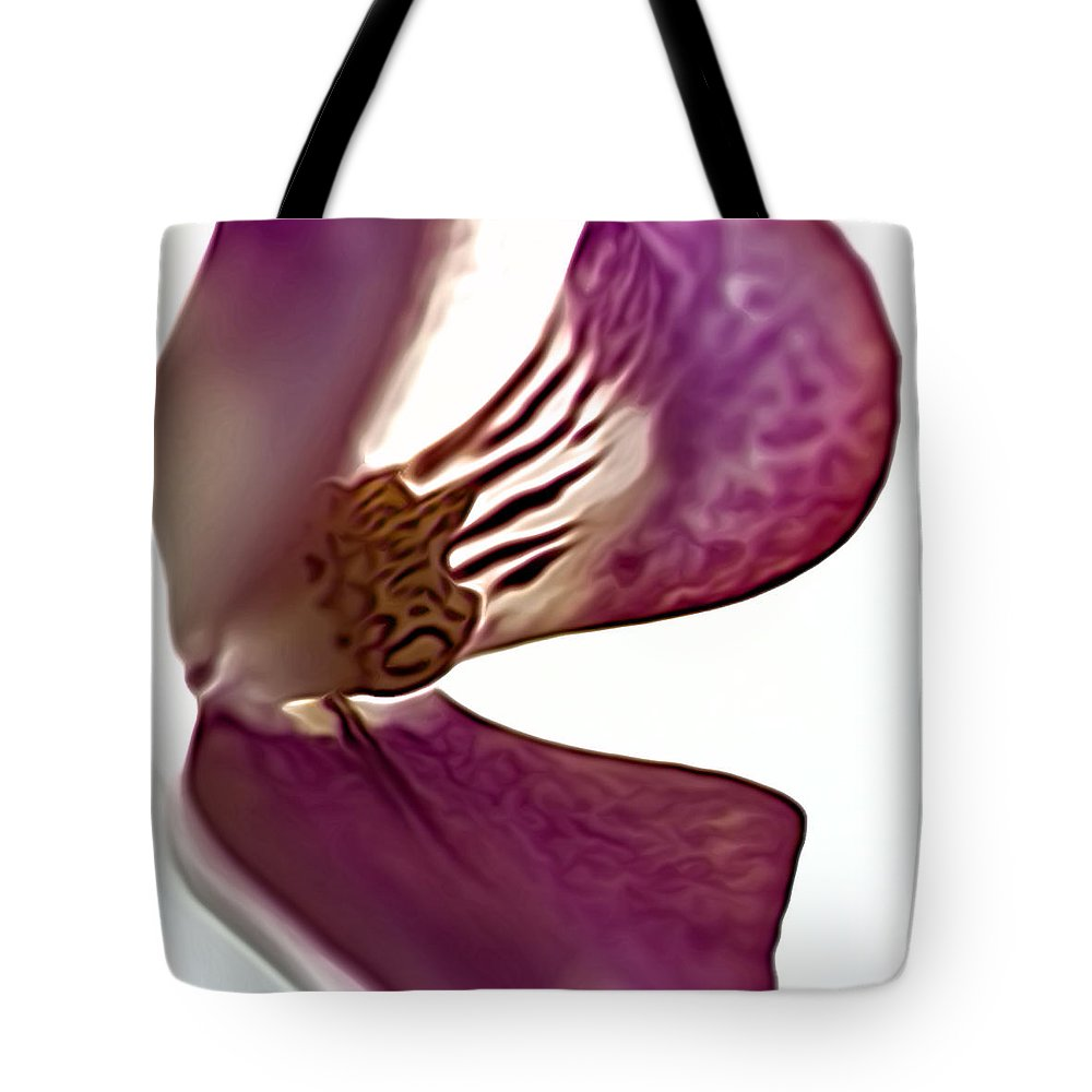 Pink Orchid Tote Bag featuring the photograph 10555 Pink Orchid by Colin Hunt