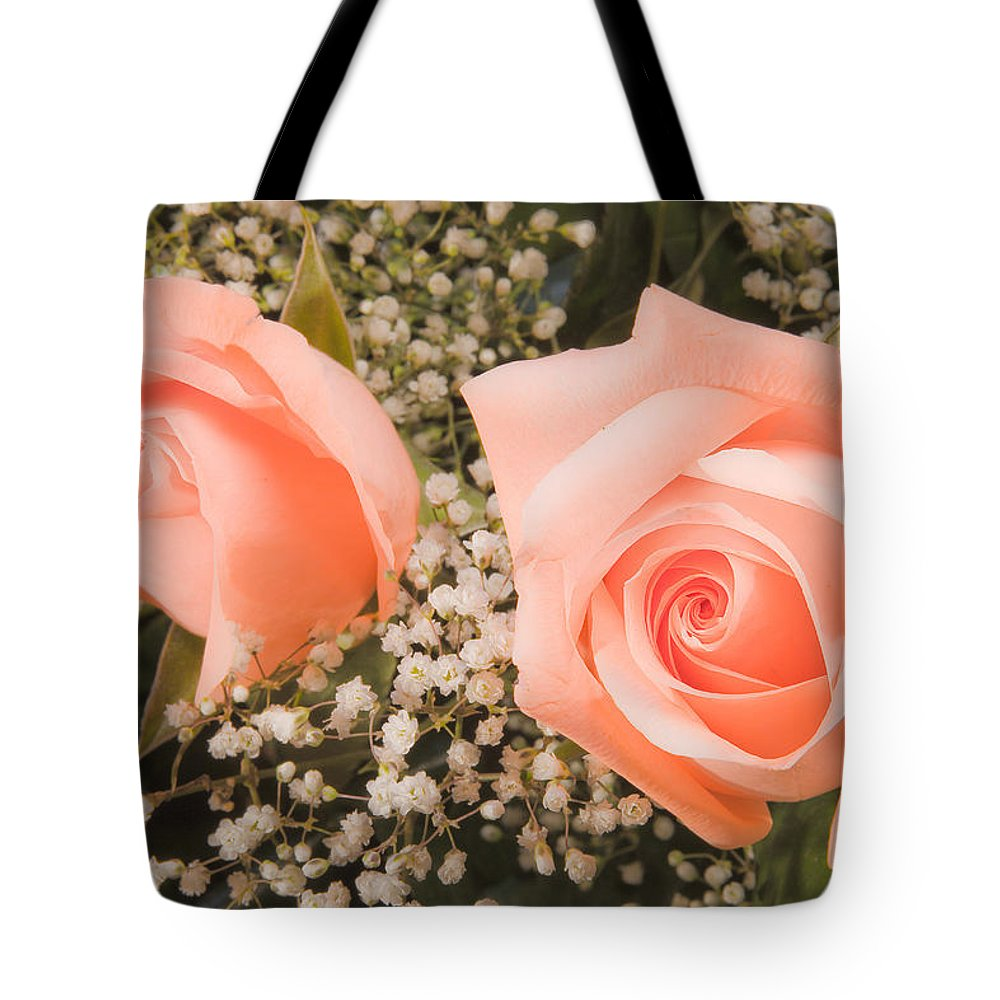 Roses Tote Bag featuring the photograph Pink Roses Fine Art Photography Print by James BO Insogna