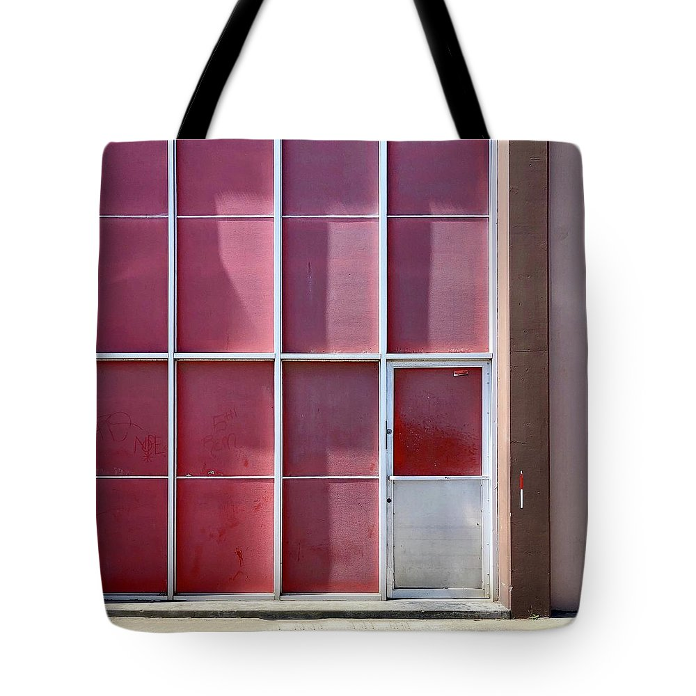 Tote Bag featuring the photograph Pink Squares by Julie Gebhardt