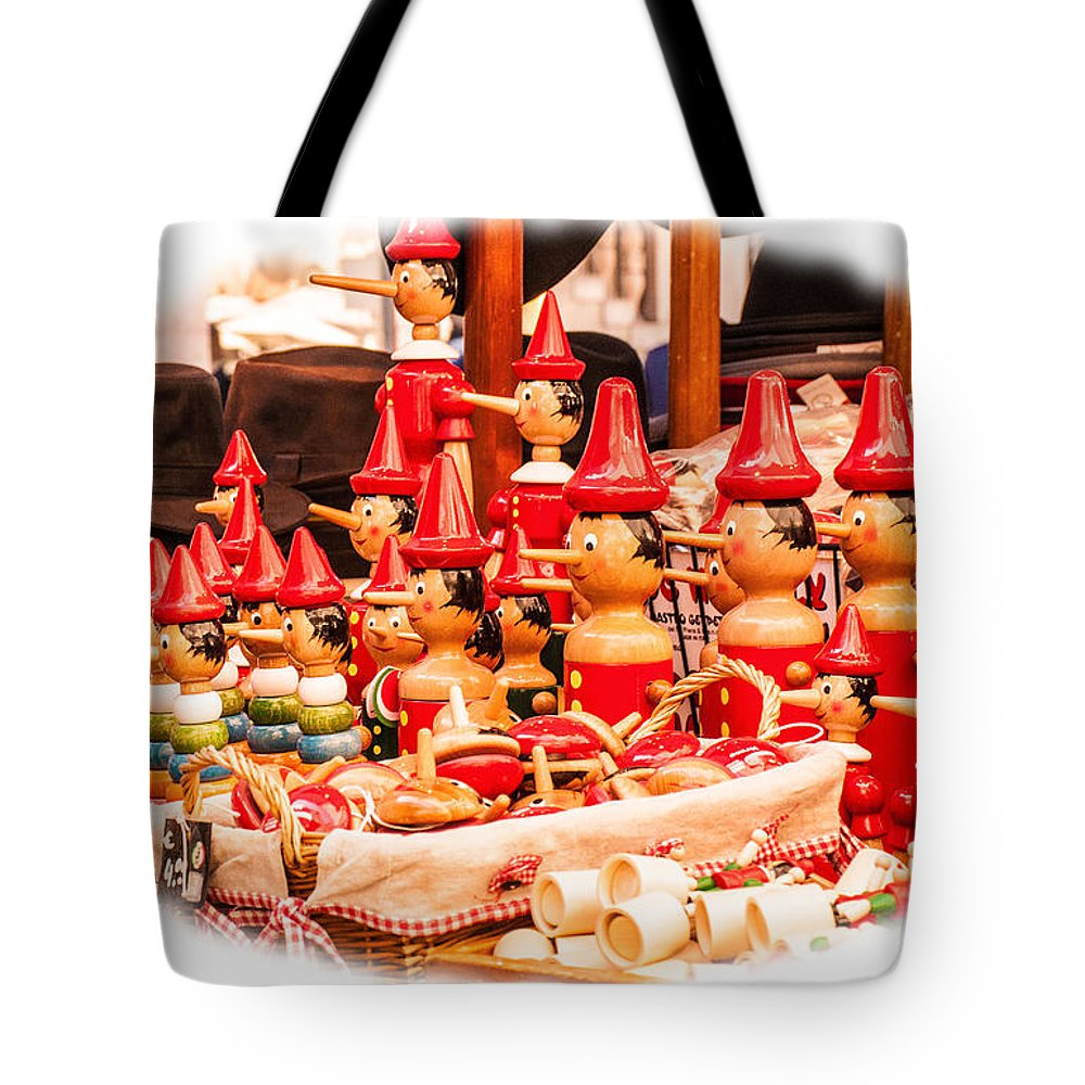 Italy Tote Bag featuring the photograph Pinocchio For Sale by Karen Regan