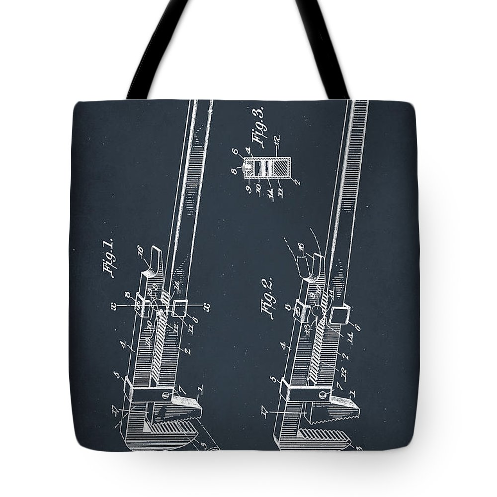 Patent Pending Mixed Media Tote Bags