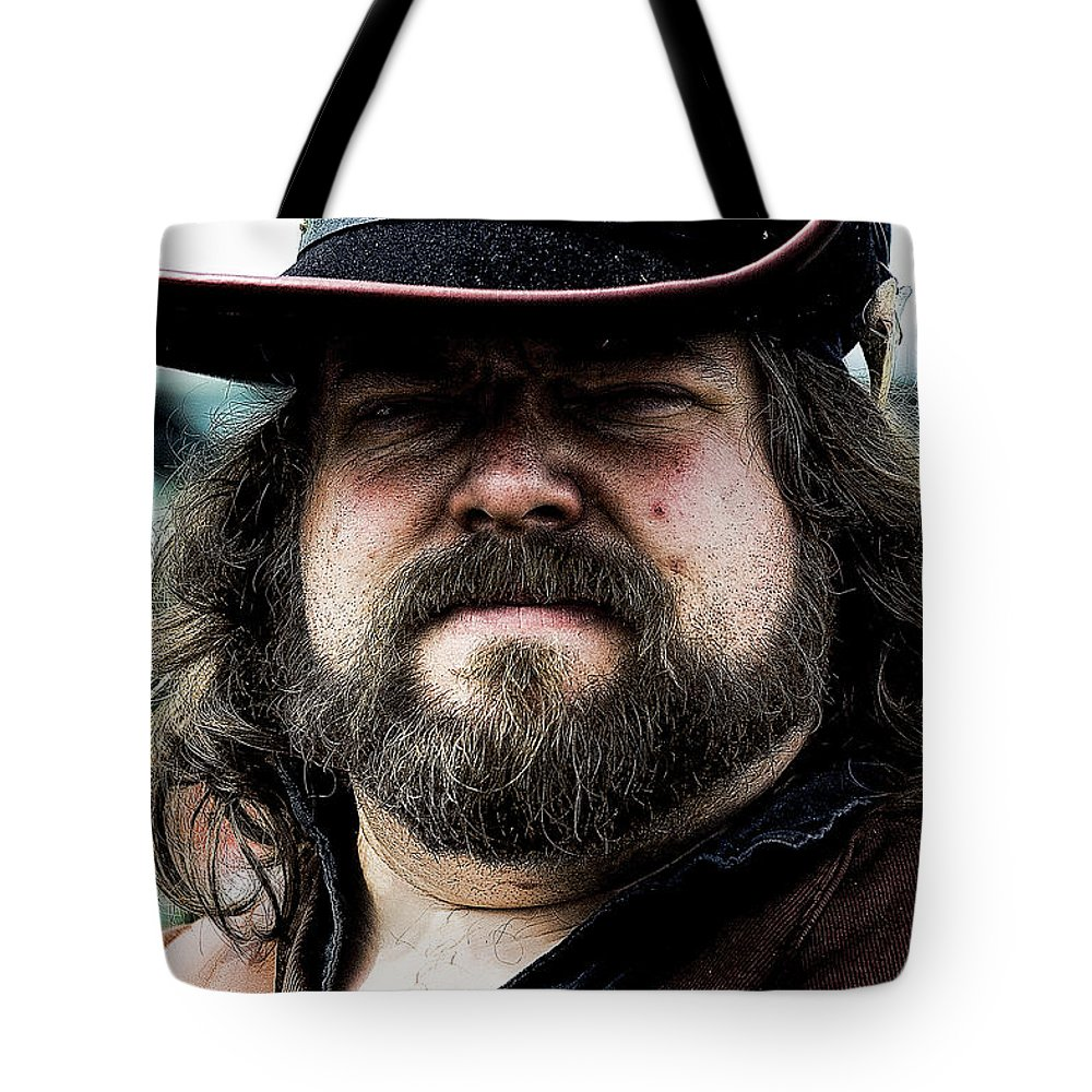 Pirate Tote Bag featuring the photograph Pirate II by David Patterson