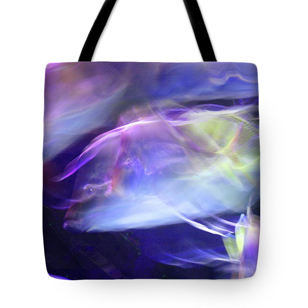 Abstract Tote Bag featuring the photograph Pisces by Steve Karol