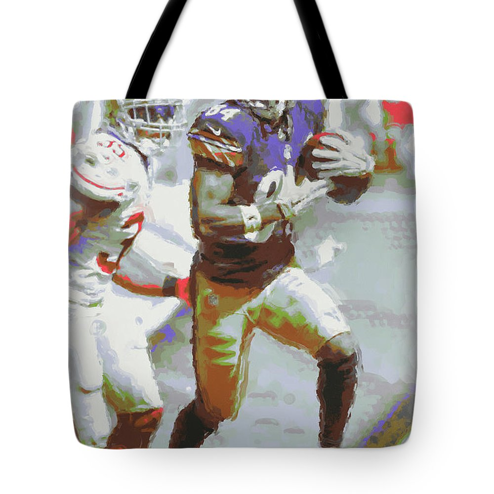 Pittsburgh Steelers Tote Bag featuring the photograph Pittsburgh Steelers Antonio Brown 3 by Joe Hamilton