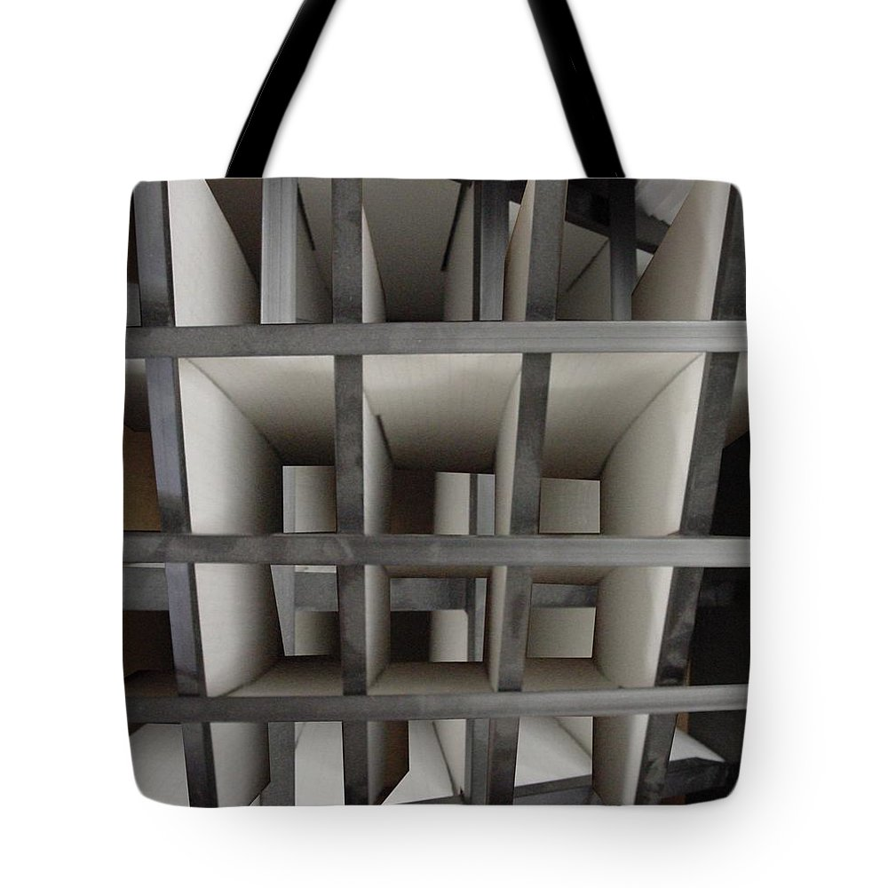 Perspective Tote Bag featuring the digital art Plain Perspective by Ron Bissett