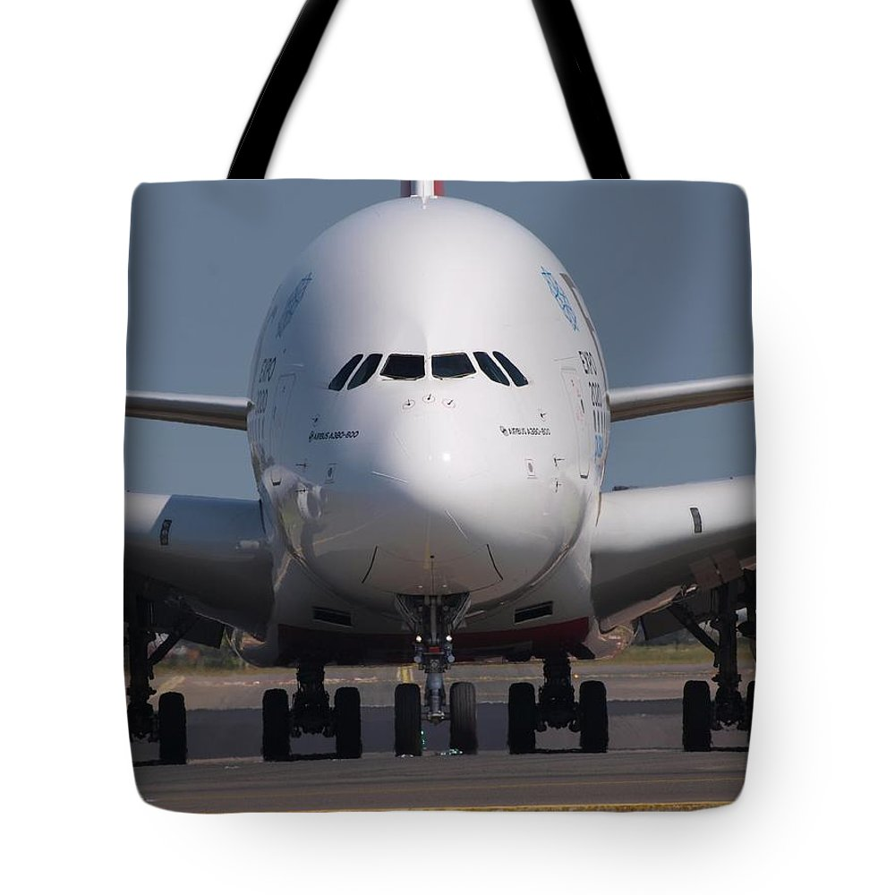 Wing Tote Bag featuring the photograph Plane by FL collection