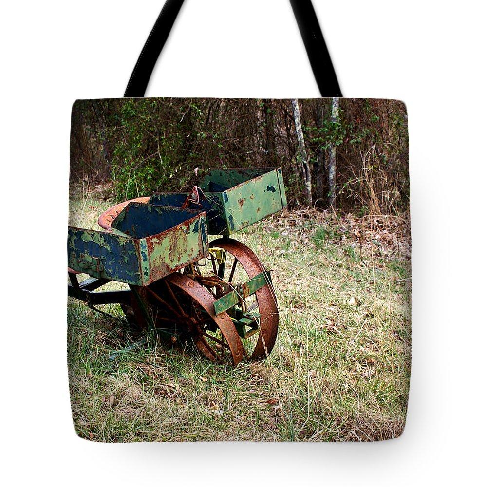Planter Tote Bag featuring the photograph Planter by Douglas Barnett