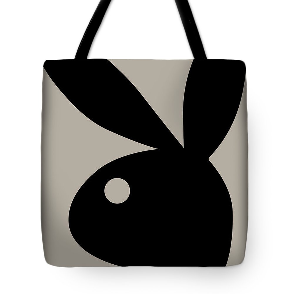 Playboy Tote Bag featuring the digital art Playboy, January 1964 by Snowflake Obsidian