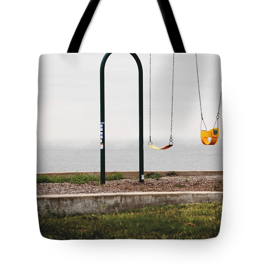 Tote Bag featuring the photograph Playground by Emily Miller