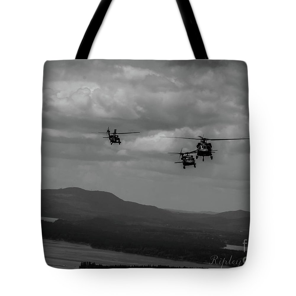 Tote Bag featuring the photograph Playing In The Clouds II by Shawn Ripley