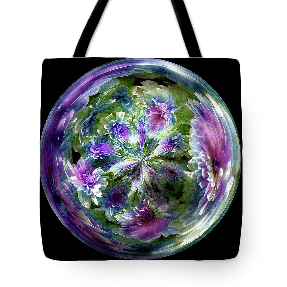 Flowers Tote Bag featuring the photograph Pleasant Dreams by Brenda Spittle