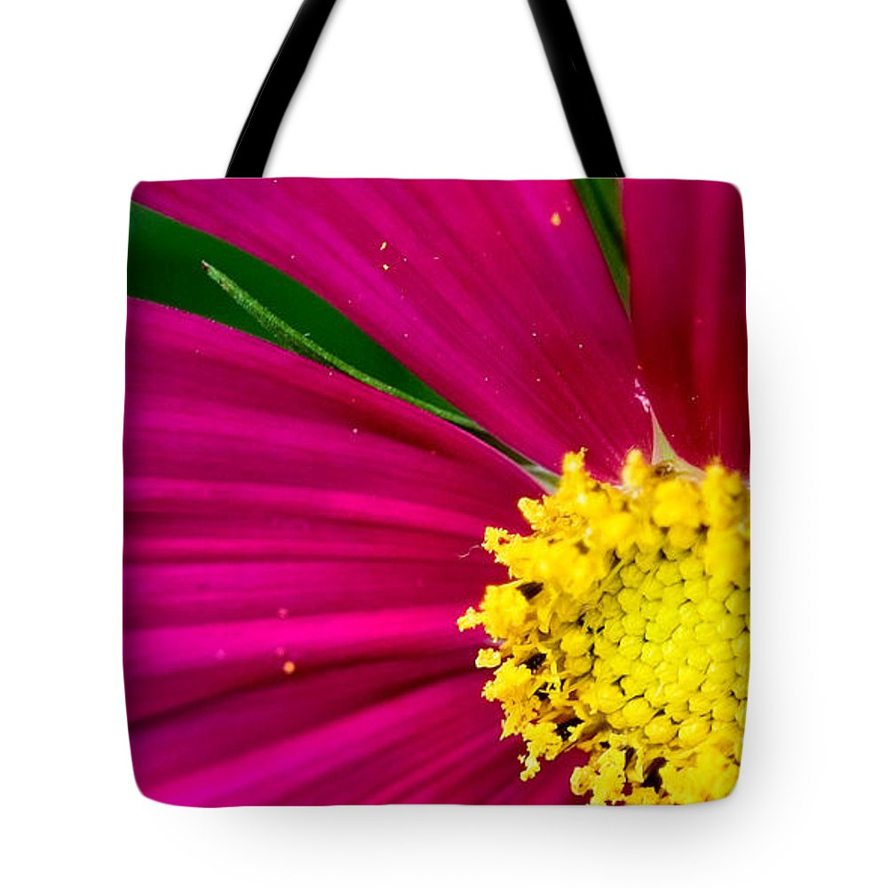 Plink Tote Bag featuring the photograph Plink Flower Closeup by Michael Bessler