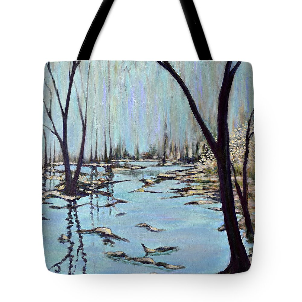 Painting Tote Bag featuring the painting Poetry by Eugene Kuperman
